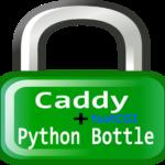 Caddyソケット連携fastCGI  + Python bottle FrameworkでWEBサーバ起動